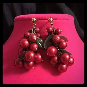 Jewelry - Festive Holly Berry Earrings